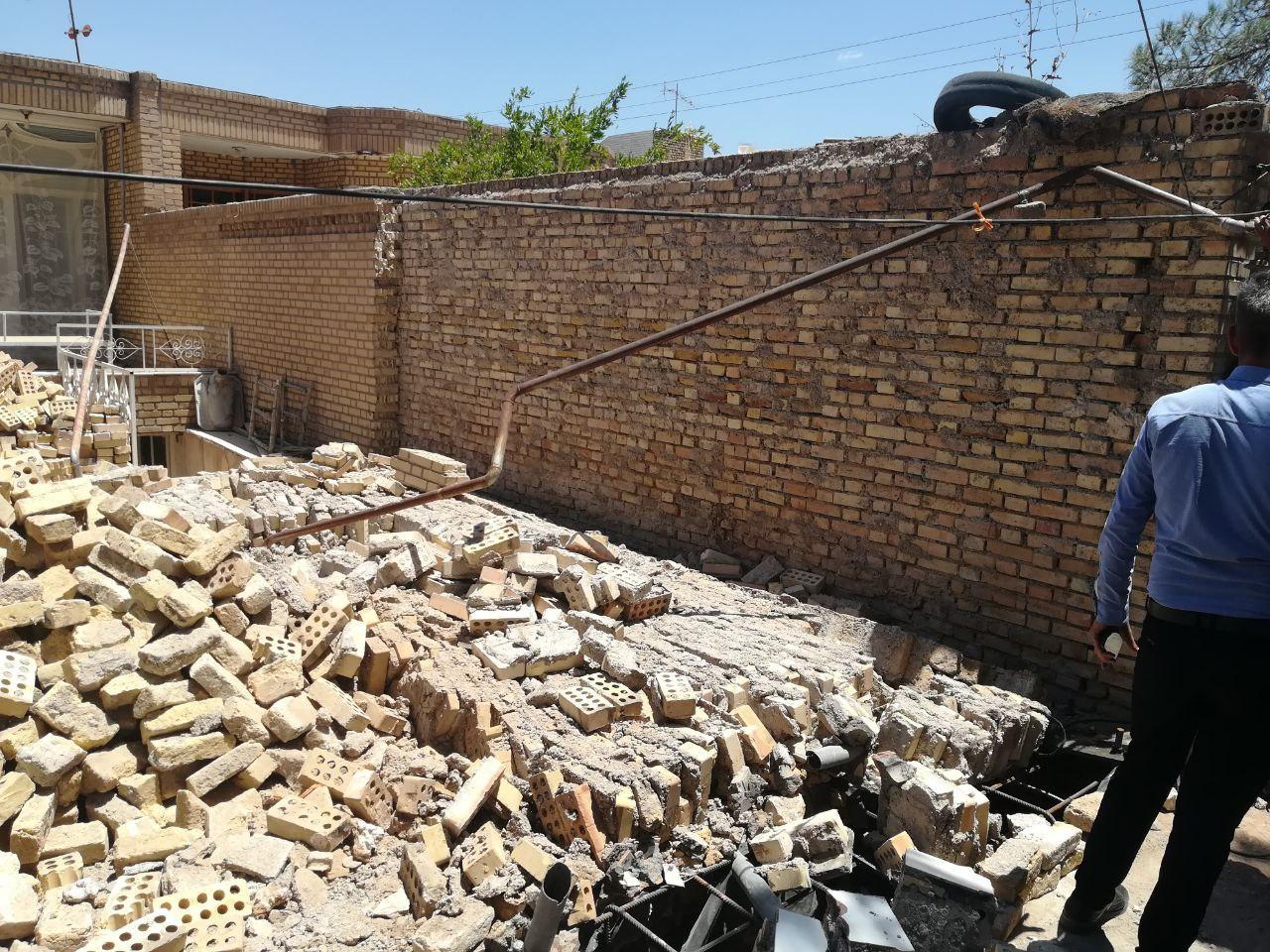 ریزش دیوار، مرگ کارگر را رقم زد