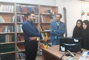 بازدید رئیس اداره فرهنگ و ارشاد اسلامی مشهد از پایگاه خبری اختر شرق