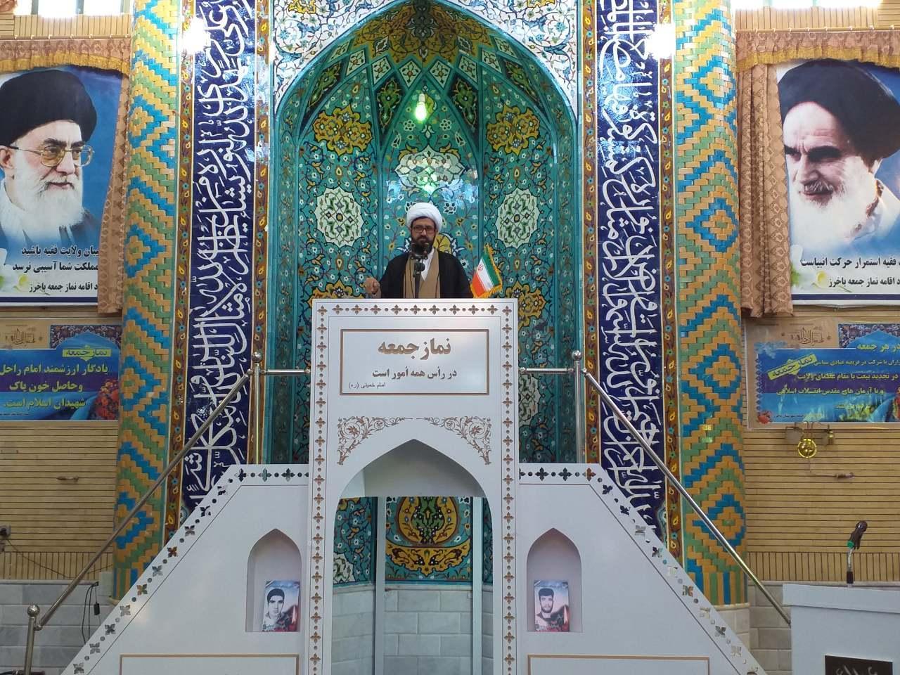 امامجمعه باخرز: اگر کاندیدایی در حد یک رئیس جمهور قول میدهد یعنی تبلیغات دروغ