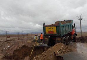 خسارت ١۵٠٠میلیون ریالی بارندگی های اخیر به راههای حوزه استحفاظی شهرستان کاشمر