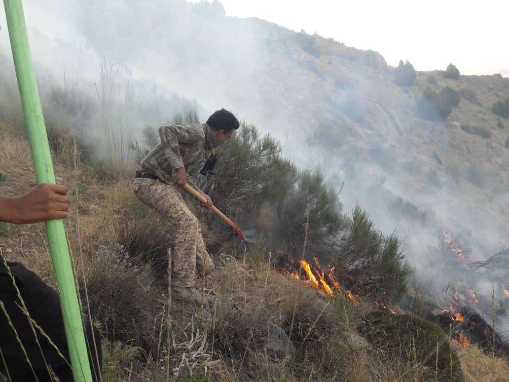 آتشسوزی در منطقه حفاظتشده کلیلاق