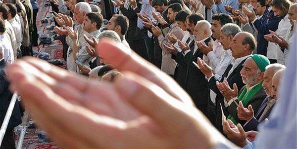 اقامه نماز عید قربان در شهرستانهای زرد و سفید خراسان رضوی