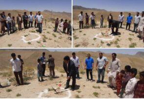 پهلوانان نامی کشتی ایران وجهان در ششمین سفر اخیر خود به صالح آباد باز هم در مدرسه سازی افتخارآفریدند