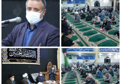 نشست مردمی فرماندار و مدیران دستگاههای اجرایی شهرستان مشهد در محله قائم (سیدی) برگزار شد