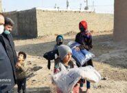 توزیع ۷ هزار و ۵۰۰ دست لباس گرم در سطح شهرستان سرخس
