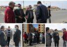 شهردار گلبهار به منظور بررسی مشکلات از سطح شهر بازدید کرد
