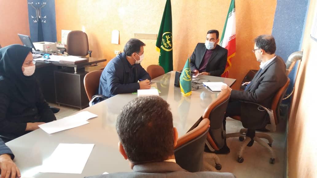 کمیته فنی کشت پاییزه با حضور مدیر زراعت سازمان در شهرستان جوین