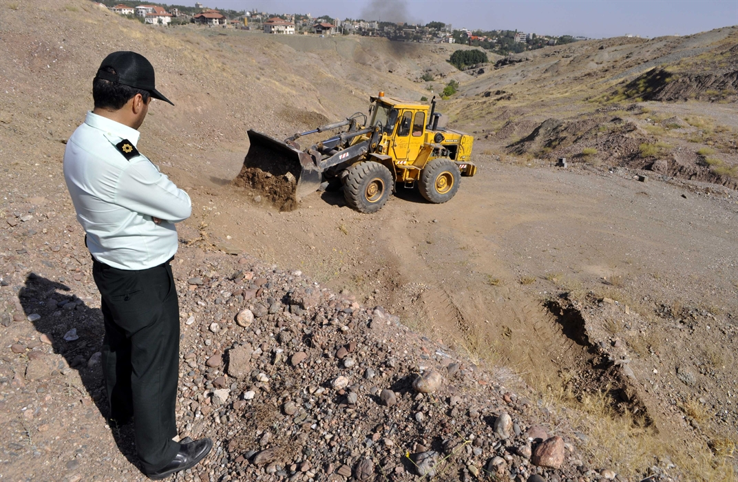 رفع تصرف ۱۰۰ مترمربع از اراضی ملی شهرستان تربت جام