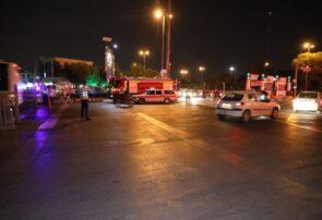 استقرار قریب به ۱۰۰ آتش نشان مشهدی در حریم رضوی و اماکن برگزاری مراسمات لیالی قدر