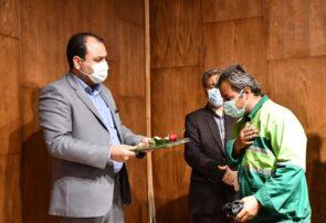 مراسم تجلیل از کارگران شهرداری گلبهار برگزار شد