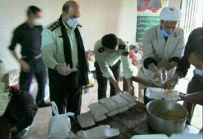 طرح اطعام مهدوی در جوین اجرا شد / توزیع ۱۰۰۰ پرس غذای گرم بین محرومان و نیازمندان