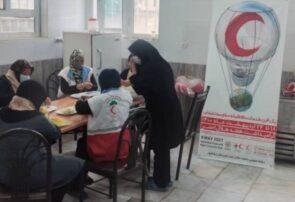 کمک مومنانه به محرومین رشتخوار/ توزیع ۲۰۰۰ پرس غذای گرم