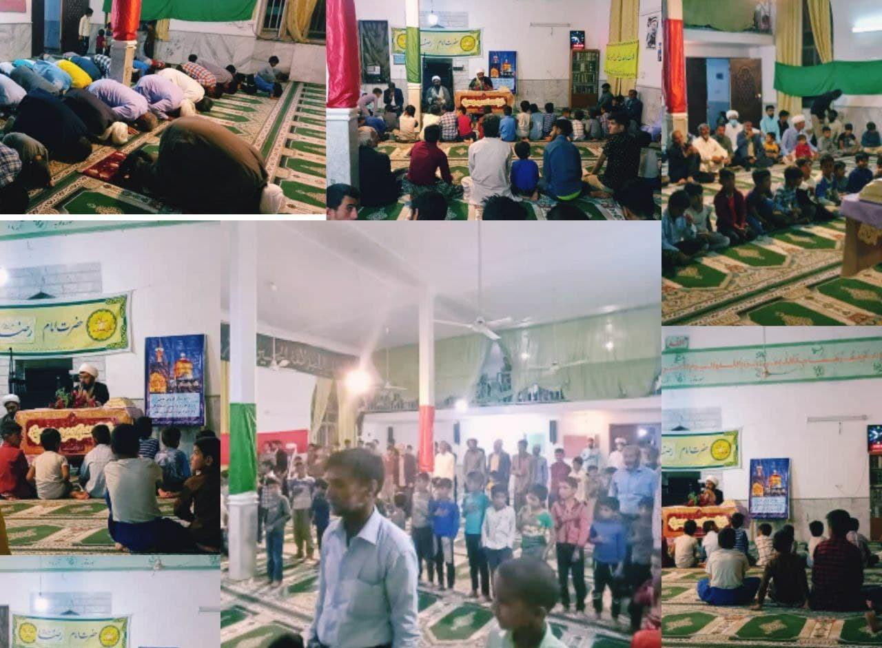 مراسم جشن ولادت امامرضا (ع) در روستای پساوه برگزار شد