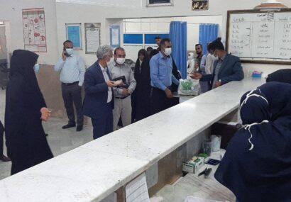 تعداد ۱۰۰ بسته نبات متبرک و شکلات در بیمارستان خاتم الانبیاء (ص) شهر تایباد توزیع شد