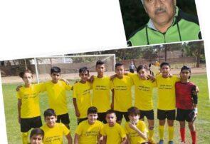 امیدهای آینده قهرمان مسابقات فوتبال رده سنی ۸۷ نونهالان تربتجام شد