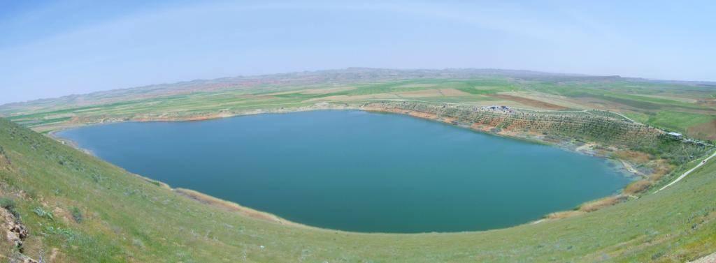 احیای دریاچه بزنگان سرخس با همکاری دوستداران طبیعت