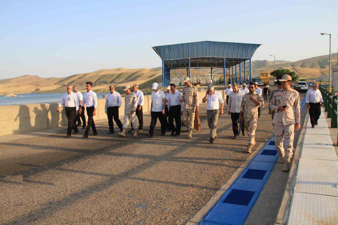 بازدید کارکنان پالایشگاه گاز شهید هاشمی نژاد از سد دوستی
