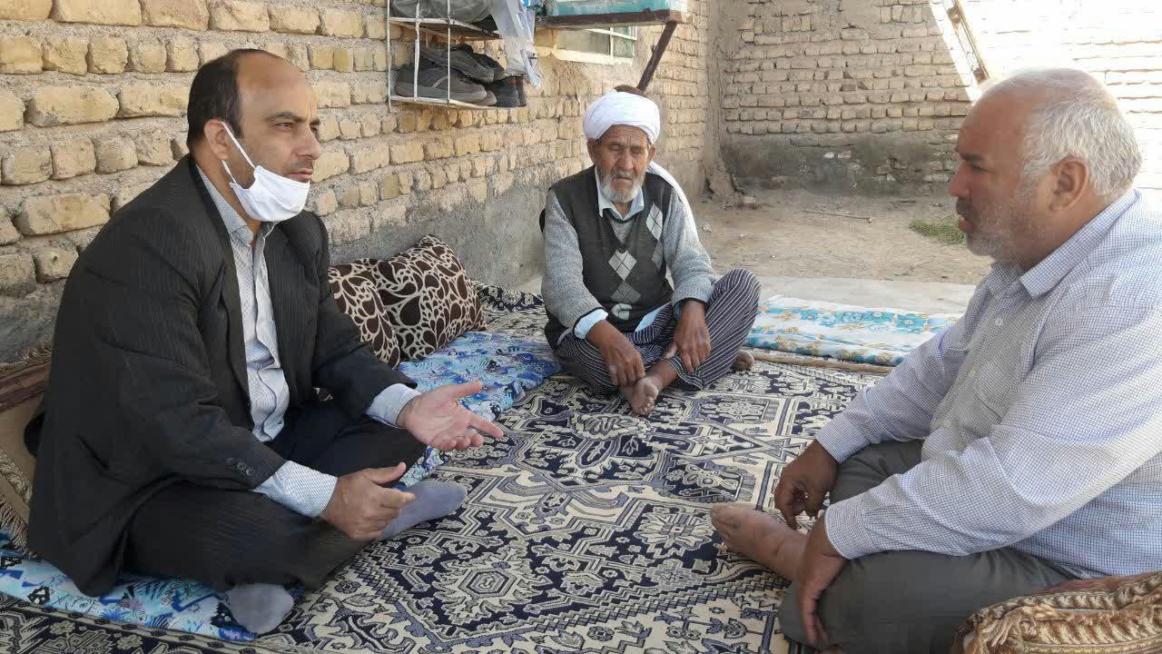 اجرای طرح سپاس ویژه سه خانواده شهید فریمانی