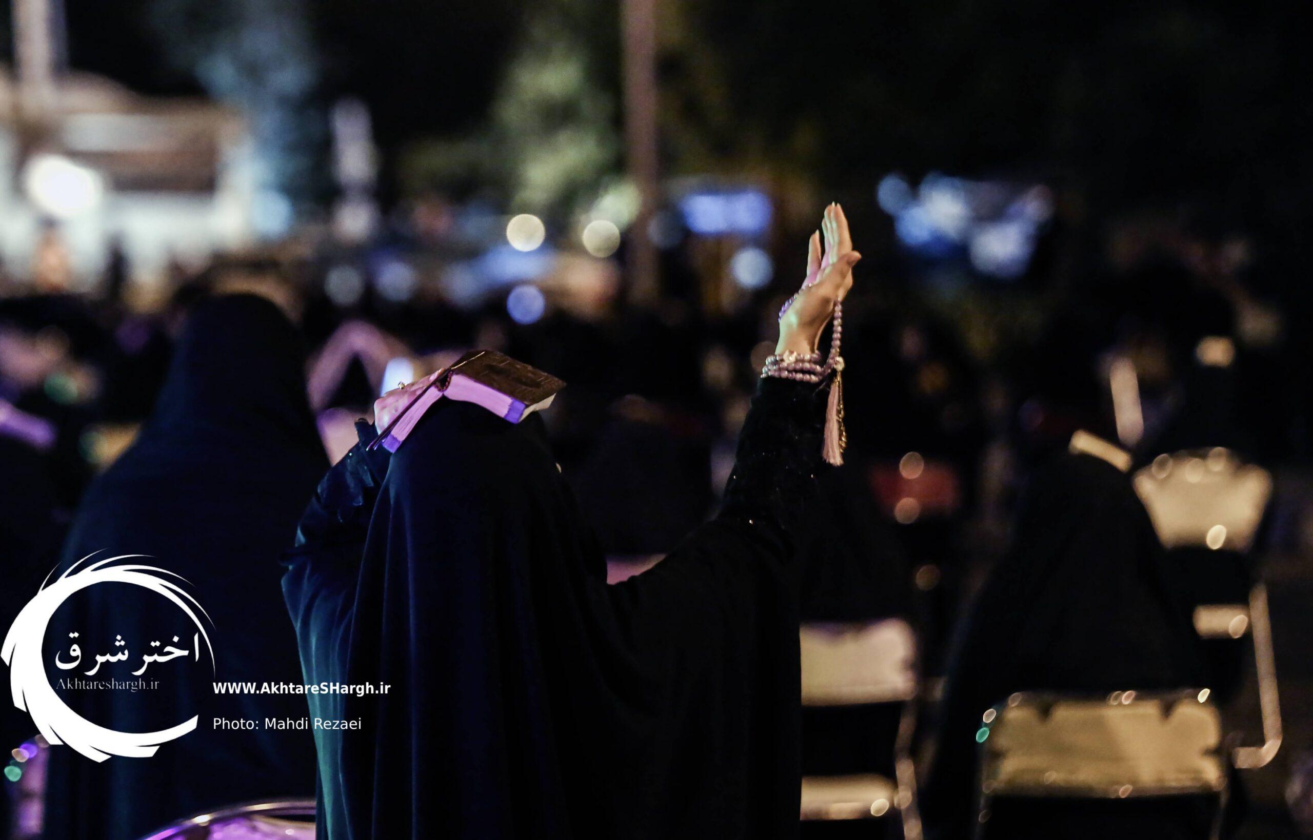 گزارش تصویری از برگزاری مراسم احیای شب بیست و یکم ماه رمضان در مشهد