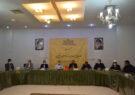 گزارش تصویری از نشست خبری حامیان لیست جبهه آرمانخواهان واقعبین در انتخابات شورای اسلامی شهر مشهد