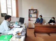 جلسه بررسی مشکلات بازسازی گلزار شهدا در کلات برگزار شد