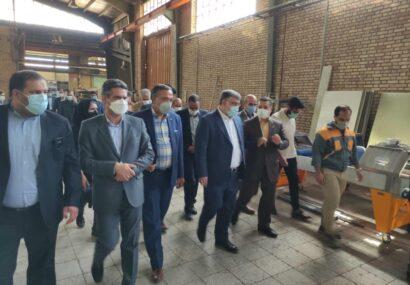 بازدید استاندار خراسان رضوی از ۳ واحد تولیدی و صنعتی