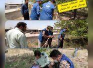 کشف انشعاب غیرمجاز در دو واحد دامداری روستایی در فریمان