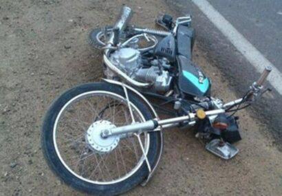 مرگ راکب موتورسیکلت در سرخس