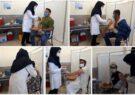 واکسیناسیون خبرنگاران تایباد به مناسبت روز خبرنگار