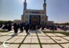 گزارش تصویری از مراسم عزاداری اربعین در دانشگاه فردوسی مشهد