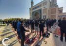 مراسم عزاداری اربعین امام حسین (ع) با قرائت زیارت اربعین در دانشگاه فردوسی مشهد برگزار شد