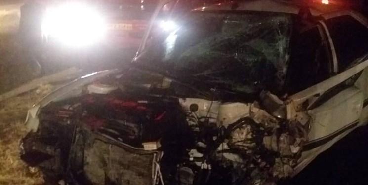مرگ دلخراش سرنشین خودرو پیکان در میان زبانههای آتش