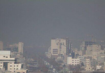 هوای پنج منطقه کلانشهر مشهد آلوده است