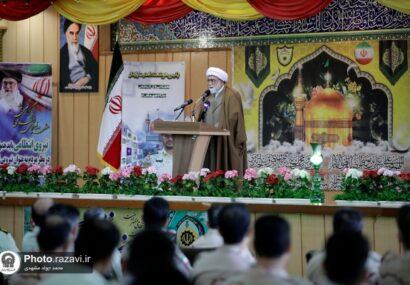 تولیت آستان قدس رضوی: امنیت ایران به برکت دلاوری نیروهای مرزبانی و انتظامی است